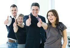 szczęśliwi grup biznesowych ludzie Zdjęcie Royalty Free