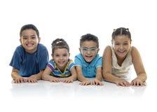 szczęśliwi grup dzieci Obraz Royalty Free