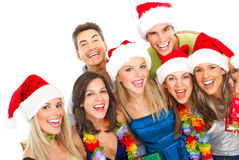 szczęśliwi ludzie Obraz Royalty Free