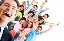 szczęśliwi ludzie fotografia royalty free