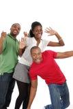 Szczęśliwi młodzi ludzie Zdjęcia Royalty Free