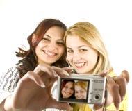 szczęśliwi nastolatkowie fotografia stock
