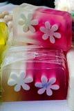 Szczęśliwi naturalni mydła dla dzieci 9 Zdjęcia Royalty Free