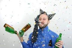 szczęśliwi nowego roku Obrazy Royalty Free