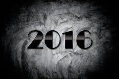 Szczęśliwi nowego roku 2016 tła & tekstury Zdjęcia Royalty Free