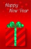 Szczęśliwi nowy rok świętowania Fotografia Stock