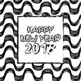Szczęśliwi 2018 nowy rok Zdjęcia Stock