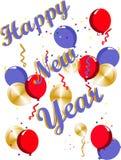 szczęśliwi nowy rok Fotografia Royalty Free