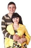 szczęśliwi par potomstwa Zdjęcie Royalty Free