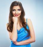 szczęśliwi portret kobiety young Obrazy Stock