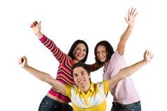 Szczęśliwi przyjaciele Zdjęcie Stock