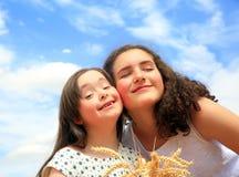 szczęśliwi rodzinnych momentów Zdjęcia Royalty Free