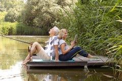 Szczęśliwi starsi ludzie Zdjęcie Royalty Free