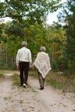 szczęśliwi starzy ludzie Obraz Royalty Free