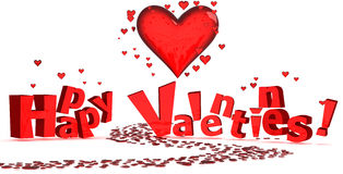 szczęśliwi valentines Obraz Stock