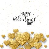 Szczęśliwi valentines dnia i pielenie projekta elementy również zwrócić corel ilustracji wektora Różowy tło Z ornamentami, serca  Zdjęcie Royalty Free