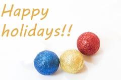 Szczęśliwi wakacje! zdjęcia royalty free