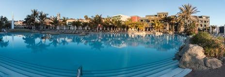 Szczęśliwi wakacje w wyspach kanaryjska, Hiszpania obraz stock