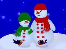 Szczęśliwi Wakacje, Wesoło Boże Narodzenia! Obrazy Royalty Free