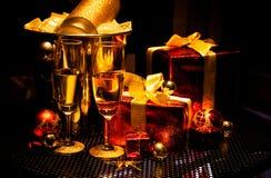 Szczęśliwi Wesoło boże narodzenia Zdjęcia Stock
