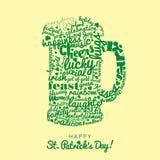 Szczęśliwy świętego Patrick ` s dzień ilustracja wektor