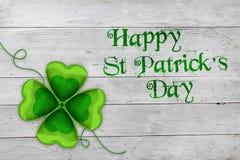 Szczęśliwy świętego Patrick ` s dzień Zdjęcie Stock
