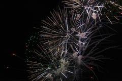 Szczęśliwy świętowanie fajerwerk Obrazy Stock