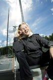 szczęśliwy żeglarz Zdjęcie Stock