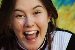 szczęśliwy 10 ucznia Zdjęcie Royalty Free