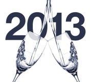 Szczęśliwy 2013 obrazy royalty free