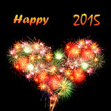 Szczęśliwy 2015 Zdjęcia Stock