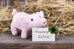 Szczęśliwy 2016 Obrazy Stock