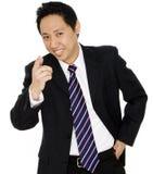 Szczęśliwy Biznesmen Obrazy Stock
