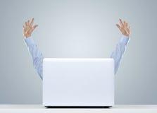 Szczęśliwy biznesmen Fotografia Stock