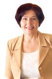 szczęśliwy bizneswomanu senior Fotografia Stock