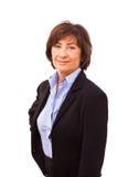 szczęśliwy bizneswomanu senior Zdjęcia Stock