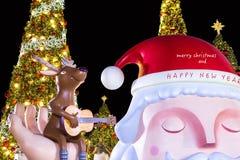 szczęśliwy Boże Narodzenie nowy rok Zdjęcie Royalty Free