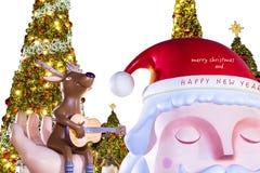 szczęśliwy Boże Narodzenie nowy rok Fotografia Royalty Free
