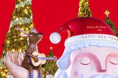 szczęśliwy Boże Narodzenie nowy rok Fotografia Stock