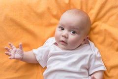szczęśliwy chłopiec portret Zdjęcia Stock
