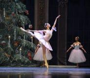 Szczęśliwy clara baleta dziadek do orzechów Obraz Royalty Free