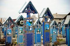 Szczęśliwy cmentarz Zdjęcie Royalty Free