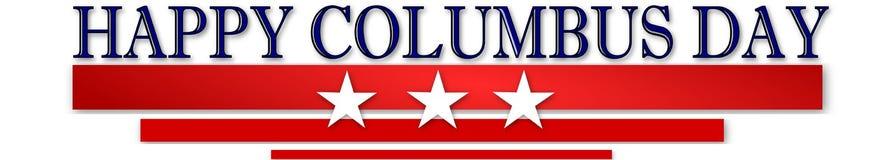 Szczęśliwy Columbus dzień Fotografia Stock