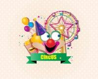 Szczęśliwy cyrk Zdjęcia Royalty Free