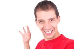 szczęśliwy człowiek fotografia royalty free