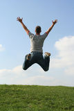 szczęśliwy człowiek Fotografia Stock