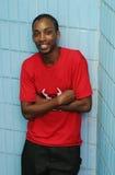 szczęśliwy człowiek jamajskiego się uśmiecha Obrazy Royalty Free