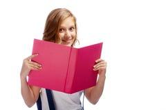 szczęśliwy czytelnik Zdjęcie Royalty Free