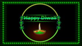 Szczęśliwy Diwali animacji /Photoshop animacji skutek
