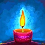 Szczęśliwy Diwali Diya